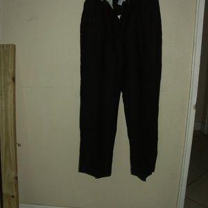 "Newport News sz 14P 28""inseam cuffed elastic waist"
